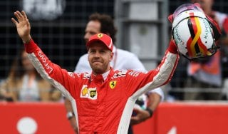 F1, Gp Germania: Vettel in pole davanti a Bottas. Raikkonen terzo, Hamilton 14°