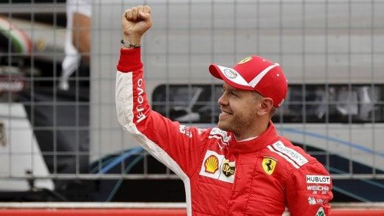 F1, Gp Germania: Vettel in pole davanti a Bottas. Raikkonen terzo, Hamilton 14°