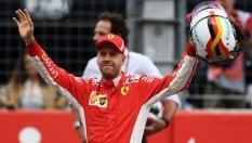 Vettel, super pole in Germania: Bottas secondo, Raikkonen 3°
