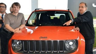 Sergio Marchionne, a sinistra Mike Manley