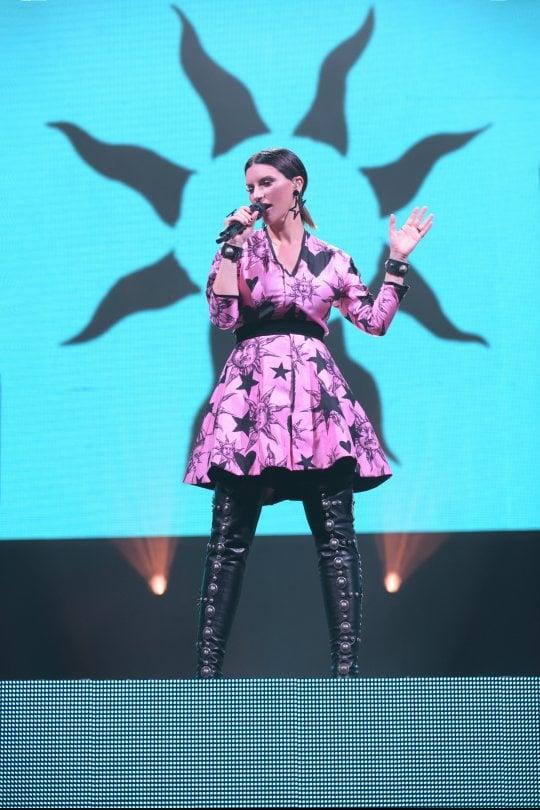 Laura Pausini conquista Roma, il suo live una festa di musica e tecnologia