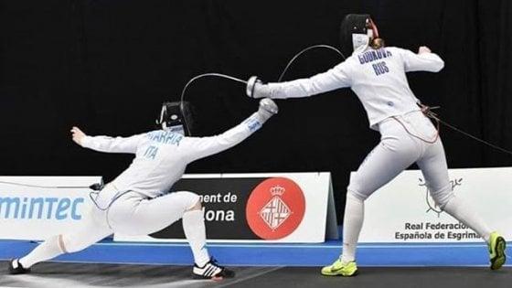 Scherma, Mondiali: Navarria è oro nella spada donne