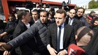 """Macron rompe il silenzio sul caso Benalla: """"Fatti inaccettabili"""""""