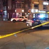 Toronto, nove persone ferite in una sparatoria
