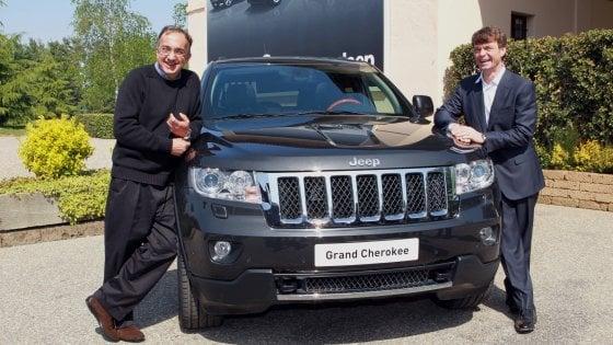Sergio Marchionne e Mike Manley insieme in una foto del 2011