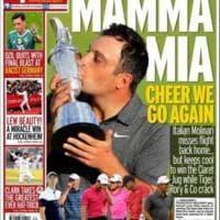 Molinari, la stampa mondiale celebra l'impresa al British Open