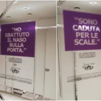 """Scritte nei bagni Ikea per aiutare le donne vittime di violenza: """"È uno"""