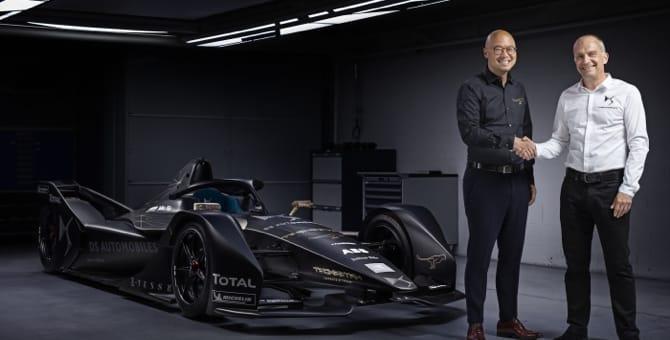 Formula E, una nuova monoposto per DS