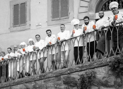 Grandi chef in strada, a Cortona si celebra l'Anno del cibo
