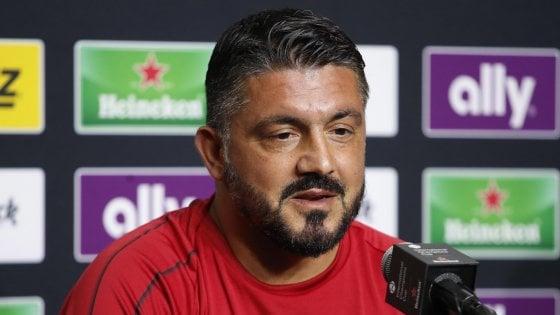 """Milan, esonerato Mirabelli. Gattuso: """"Bonucci vuole andar via"""""""