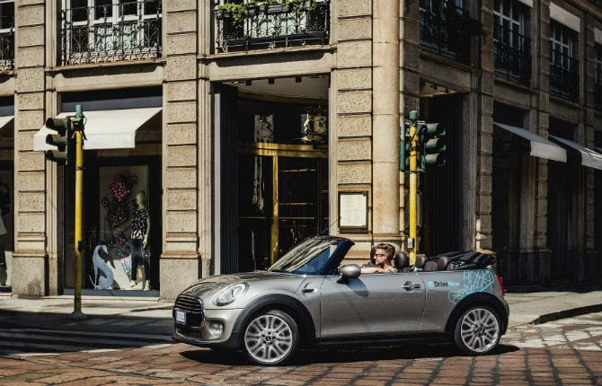 Milano, è boom di car-sharing BMW