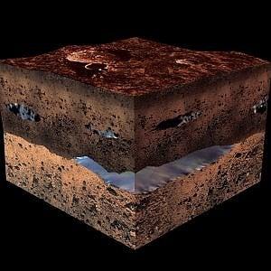 Ricercatori italiani scoprono un lago su Marte