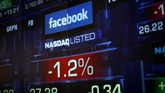 Facebook, trimestrale deludente e crollo - 23,68% a Wall Street