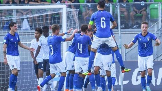 Europei Under 19, Italia-Francia 2-0: Capone-Kean, è finale!
