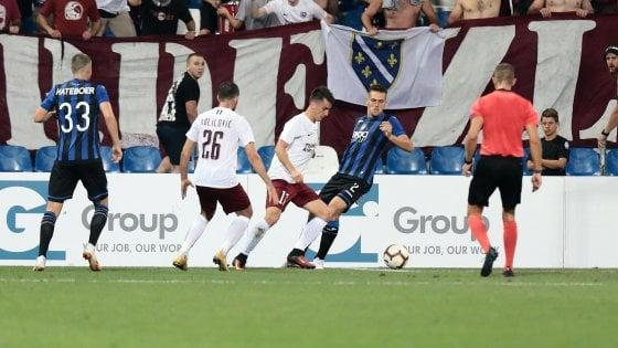 Atalanta-Sarajevo 2-2: bergamaschi spreconi, i bosniaci li puniscono