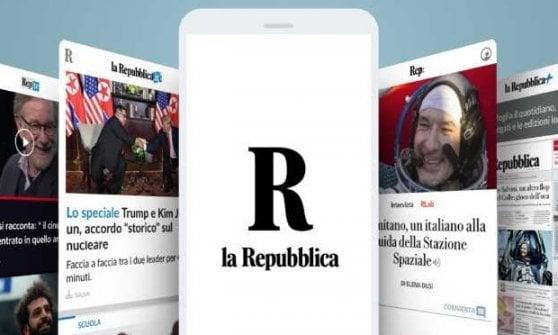 Il mondo Repubblica: ecco la nuova app che gira intorno a te