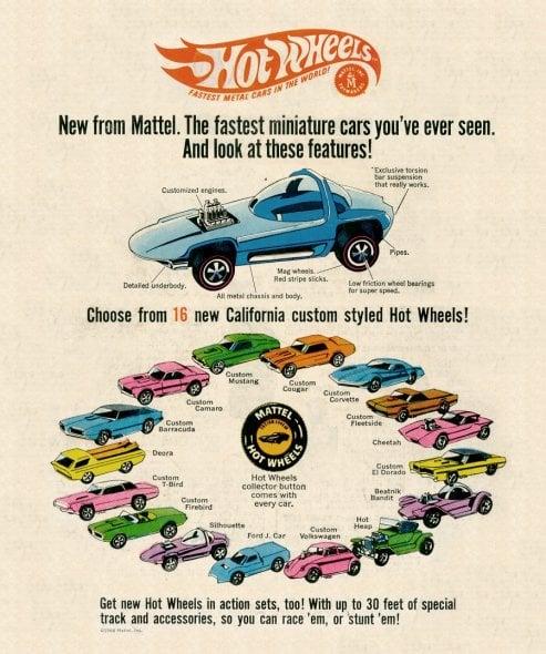 50 anni di Hot Wheels per immagini: i modellini che hanno fatto sognare intere generazioni