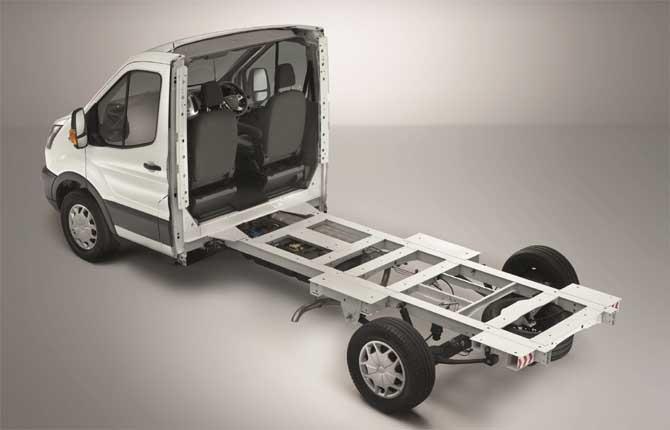Ford a tutto campo: ecco il nuovo Transit Skeletal