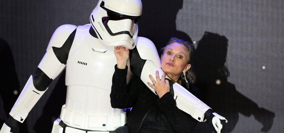 Vecchie scene inedite faranno rivivere Carrie Fisher nel prossimo Star Wars