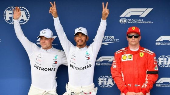 F1 Gp Ungheria Hamilton in pole le Ferrari in seconda fila