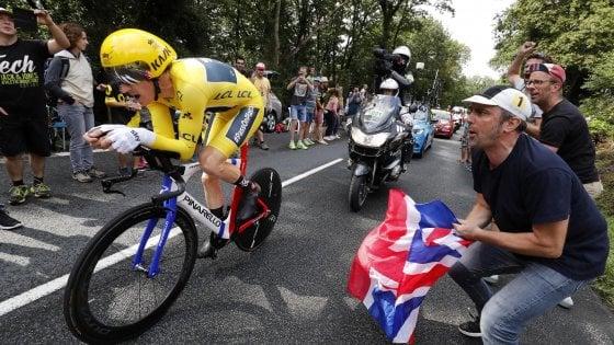 Tour de France, Thomas mette la firma sul trionfo. Crono a Dumoulin, Froome beffato per 1''