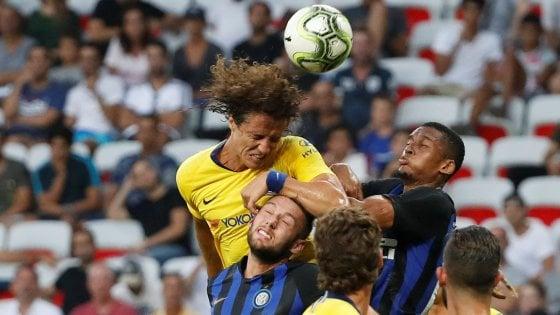 Inter-Chelsea finisce in parità, Sarri e Jorginho battono Spalletti ai rigori