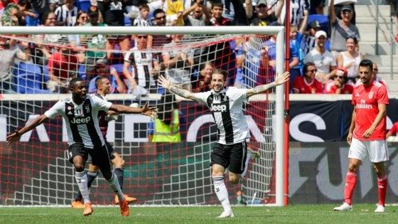Juventus una perla di Clemenza riprende il Benfica poi la vittoria ai rigori