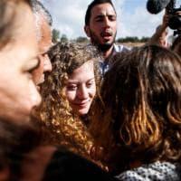 Israele, rilasciata l'attivista palestinese Ahed Tamimi