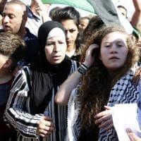 Israele, libera Ahed Tamimi. Per lei il murale di Jorit, arrestato e poi scarcerato