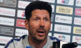 """Atletico Madrid, Simeone frena gli entusiasmi dell'Inter: """"Aspetto Vrsaljko in ritiro"""""""