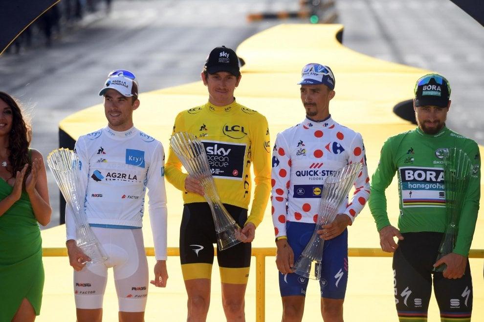 Tour de France, Thomas trionfa a Parigi
