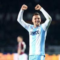 Lazio, Milinkovic perde l'aereo. L'agente: ''Con il club tutto ok''