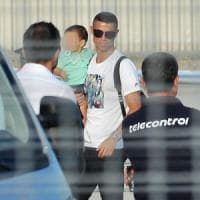 Juventus, Ronaldo alla Continassa: primo allenamento in bianconero