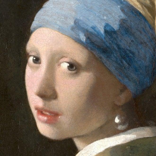 """La """"Ragazza con l'orecchino di perla"""" vista da molto vicino"""