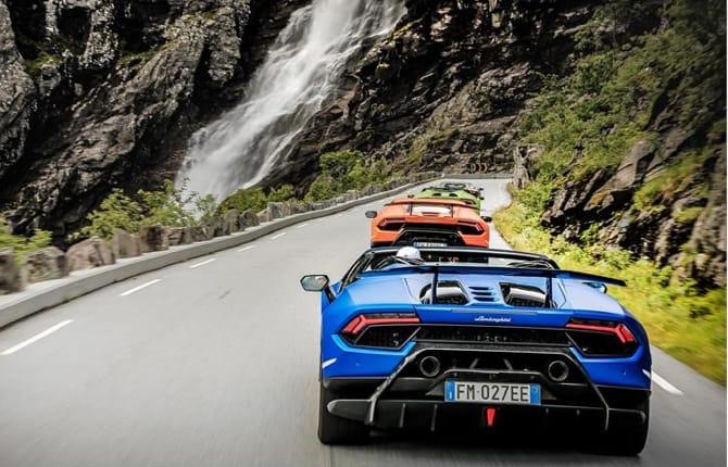 Lamborghini Avventura 2018, alla scoperta della Norvegia