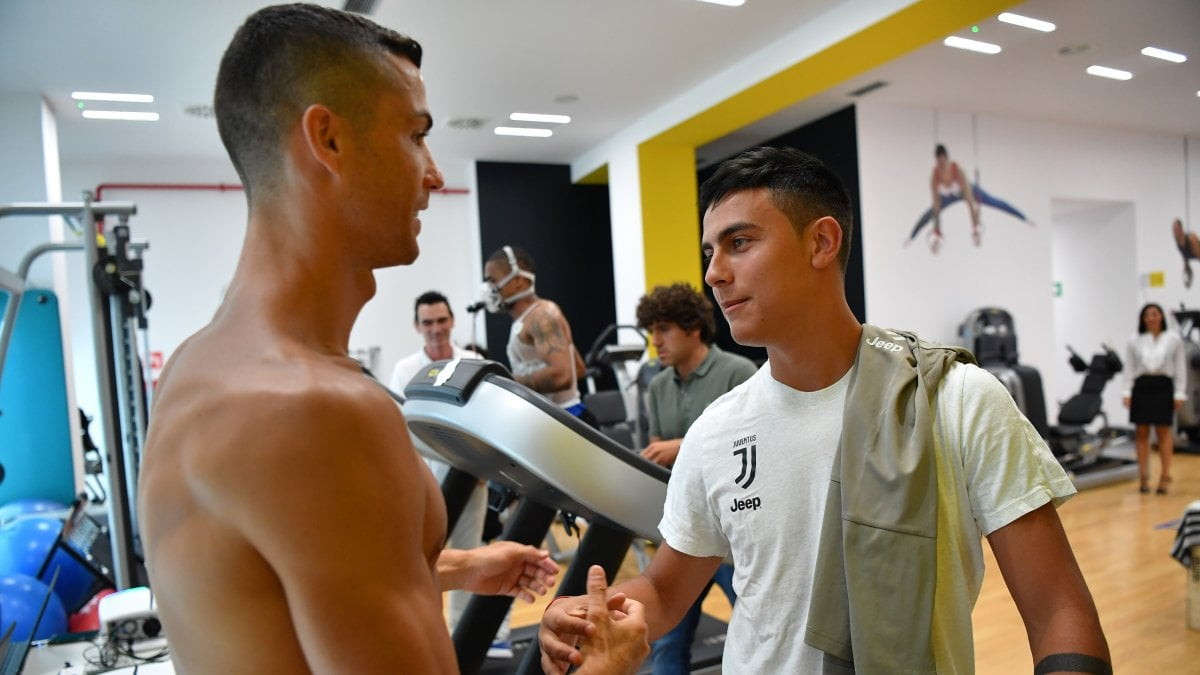 TORINO - Questa mattina allo Juventus training center alla Continassa