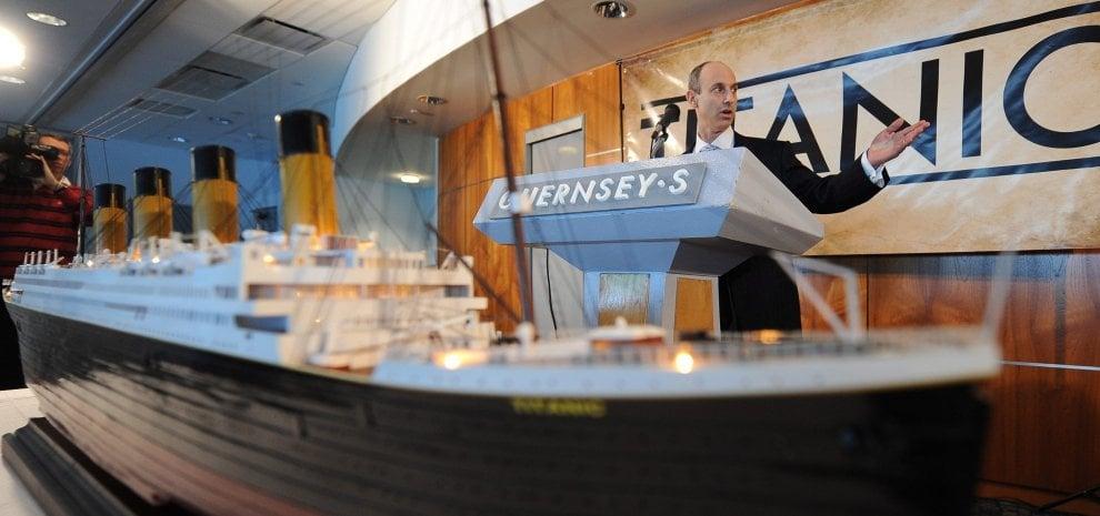 """L'appello di James Cameron: """"Salviamo i cimeli del Titanic"""""""