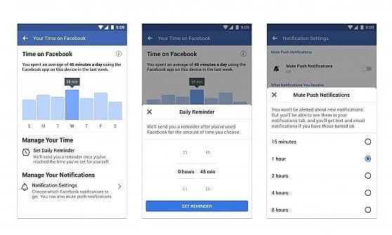 Facebook, ecco lo strumento per sapere quante ore si passa sui social