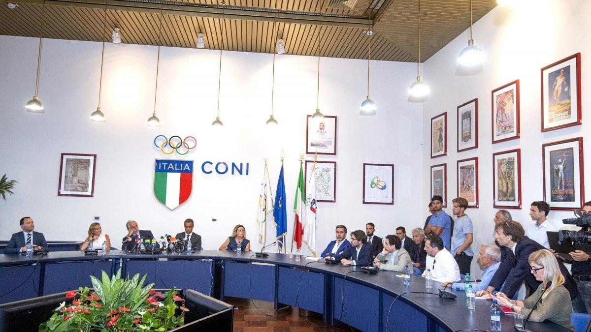 """ROMA - Candidatura a tre, Milano, Torino e Cortina, """"un"""