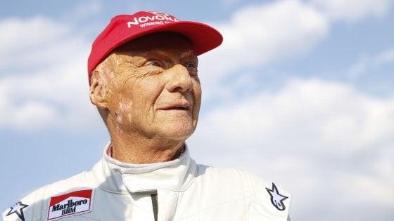 F1: trapianto polmonare per Niki Lauda, è in condizioni gravissime