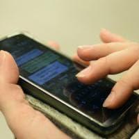 Il tocco della dita sullo smartphone racconta chi siamo