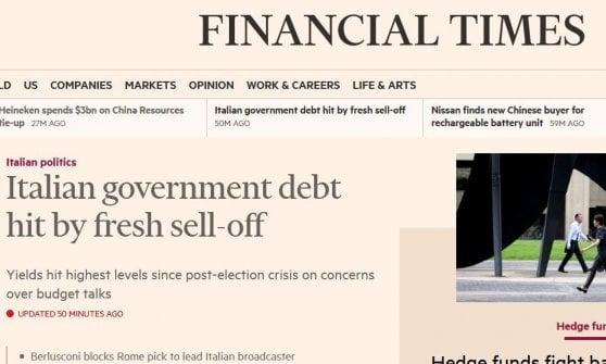 Torna la tensione sullo spread. Tria: Flat tax e reddito di cittadinanza compatibili con il bilancio