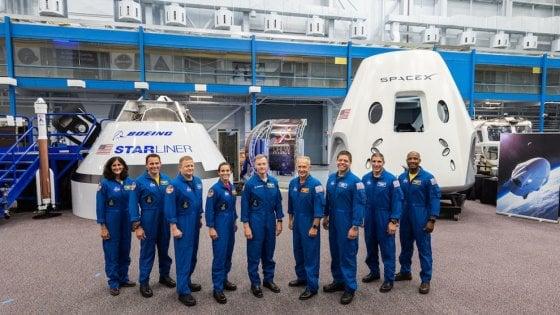 Veterani e matricole, ecco gli astronauti Nasa per il turismo spaziale