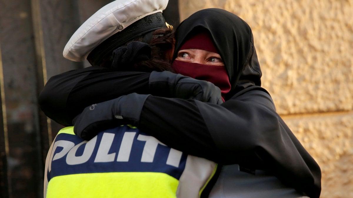 COPENAGHEN - La 28enne è stata denunciata da una passante