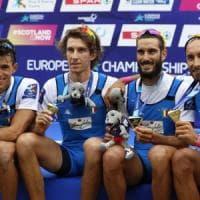Canottaggio, Europei: Italia d'oro due volte nel quattro di coppia. Azzurre, bronzo al due senza