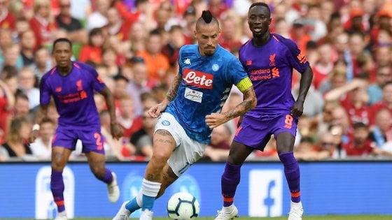 Liverpool, tre assenti per il Napoli Klopp: