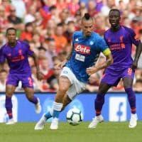 Napoli, figuraccia a Dublino: il Liverpool vince 5-0