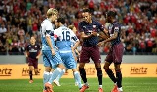 La Lazio cade contro l'Arsenal: in amichevole finisce 2-0