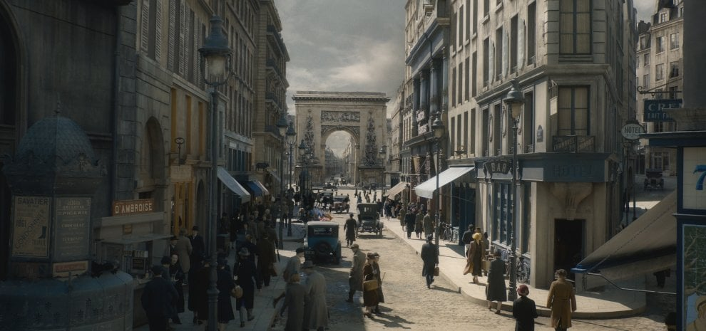 Sul set del nuovo 'Animali fantastici', nella Parigi del '27 tra maghi e circensi