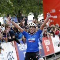 Ciclismo, Europei pista: Bastianelli oro nella prova su strada femminile